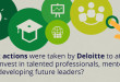 How Deloitte invests in talented professionals, mentoring and developing future leaders