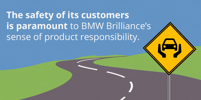 Case study: How BMW Brilliance ensures product safety
