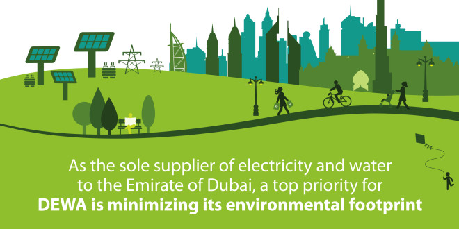 Case study: DEWA's policies and procedures for managing its environmental impacts