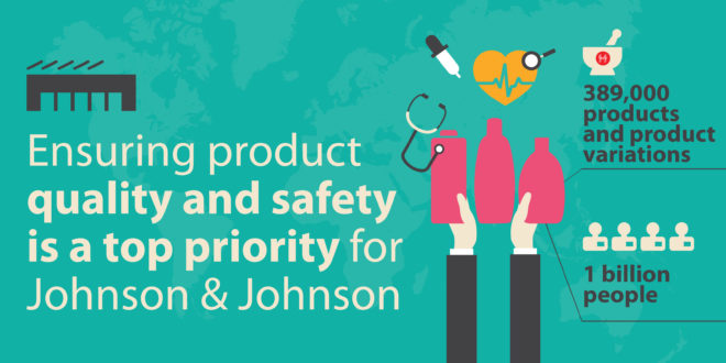 How Johnson & Johnson is ensuring product quality and safety