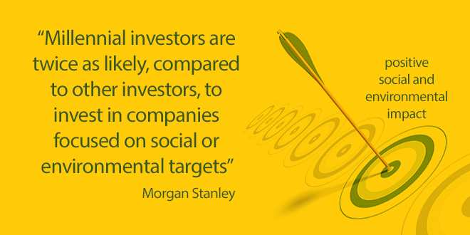 Morgan Stanley: Millennials sustainable investing continues to intensify