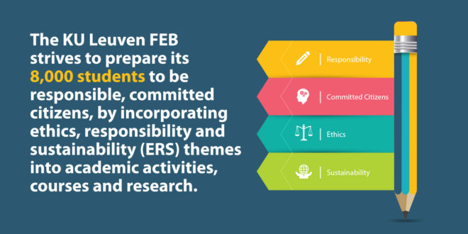 Case study: How the KU Leuven FEB (Faculty of Economics and Business) integrates ethics, responsibility and sustainability themes into educational programs and research