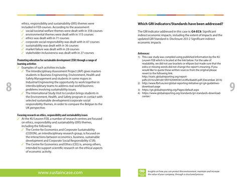 Epub: How the KU Leuven FEB (Faculty of Economics and