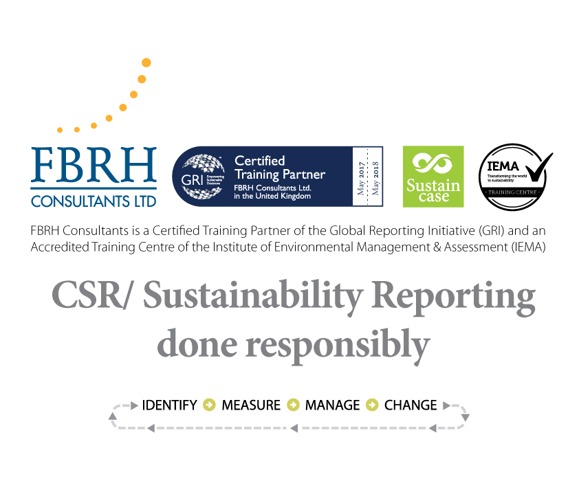 CSR/ Sustainability Reporting done responsibly