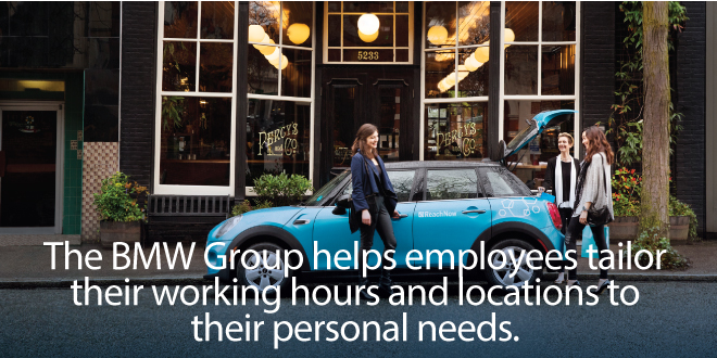 Case study: How the BMW Group promotes work-life balance